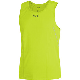 GORE WEAR R5 Top sin mangas Hombre, citrus green
